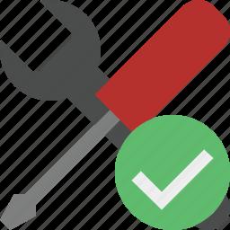 ok, options, preferences, settings, tools icon