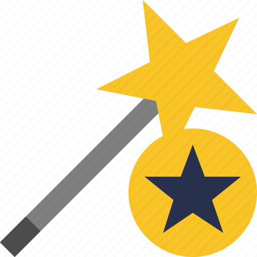 Magic, star, tool, wand, wizard icon - Download on Iconfinder