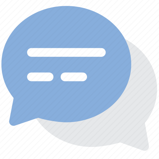 bubbles, chat, chat bubbles, chatting, comment, conversation, messages icon