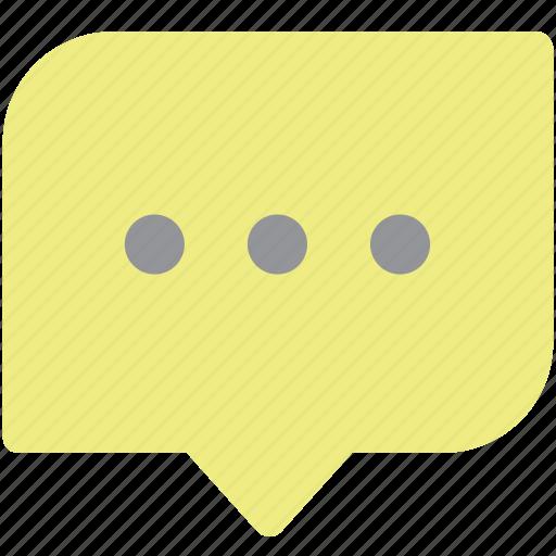 bubble, chat, speech bubble, talk icon