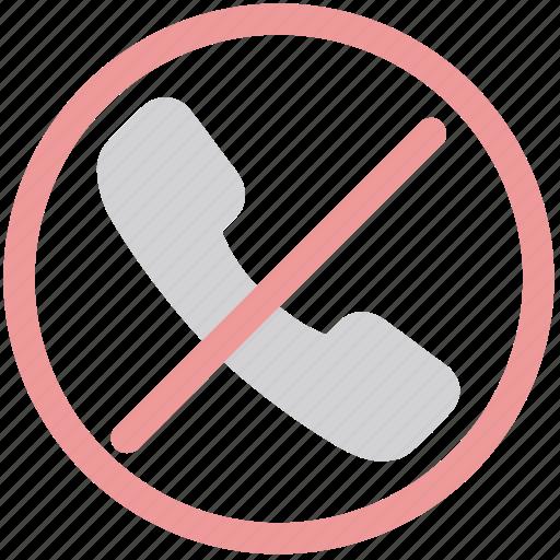 cancel call, communication, failed call, no call, stop call icon