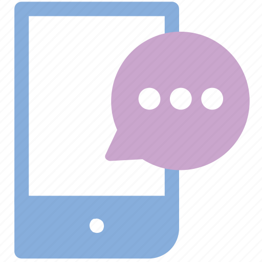 chat, message, mobile, sms, talk icon