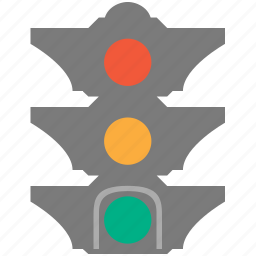 light, semaphore, traffic, traffic light, transport, transportation icon
