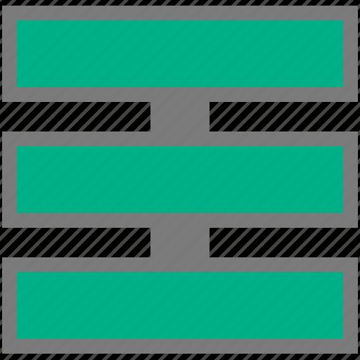 block, procedure, scheme, stored, structure icon