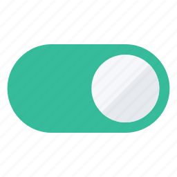 buttons, on, power, switch, toggle, turn icon