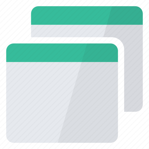 characteristics, data, details, duplicate, file, views icon