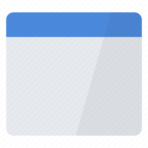 blank, configuration, empty, new, window icon