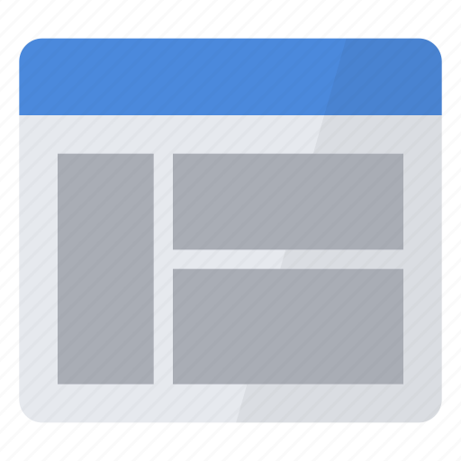 configuration, custom, display, panes, preferences, settings, window icon