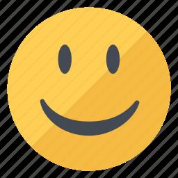 emoji, emoticon, emotion, expression, happy, smile, smiley icon