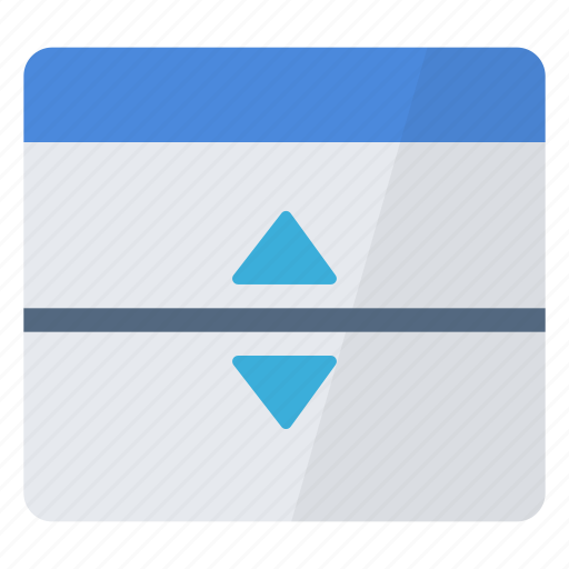 configuration, custom, horizontal, interface, separator, user, window icon