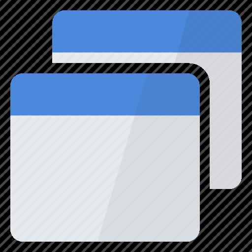 blank, create, empty, multiple, new, several, windows icon