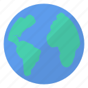 blue, earth, global, green, planet, world, worldwide icon