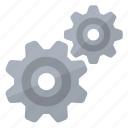configuration, gears, mechanic, options, repair, settings, teeth icon