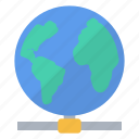 connected, earth, global, internet, network, planet, world icon