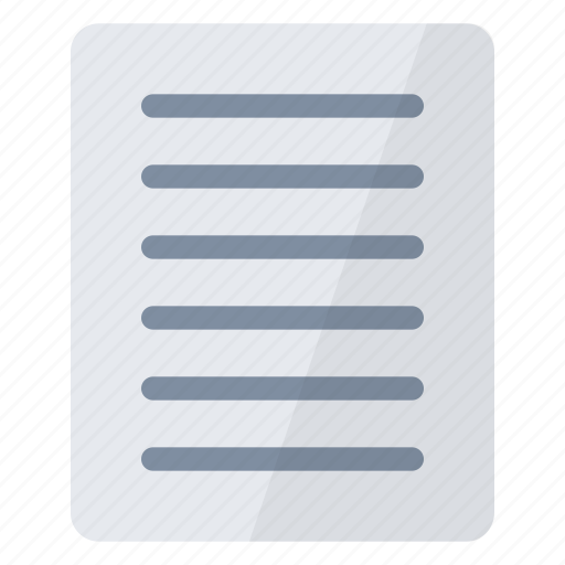 content, documents, office, open, page, paper, text icon