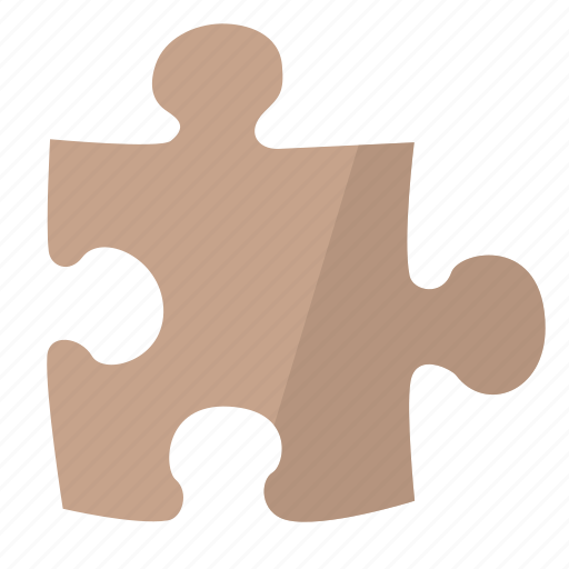 part, piece, planning, puzzle, red, strategy icon