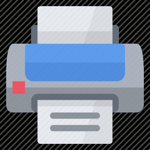 document, laser, office, paper, print, printer, sheet icon