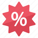 deal, discount, good, offer, percentage, price, sale icon