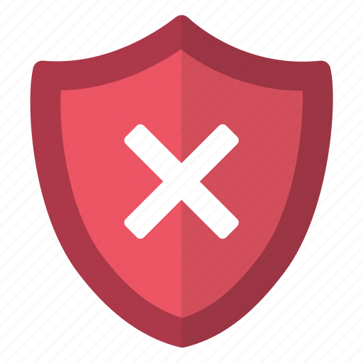 error, lock, problem, protection, secure, security, unprotected icon