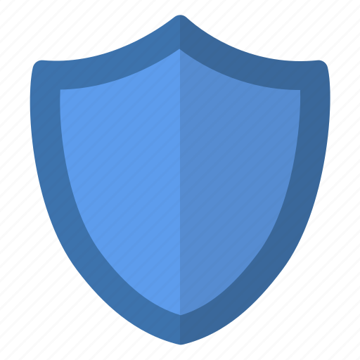 blue, protect, protection, safe, secure, security, shield icon