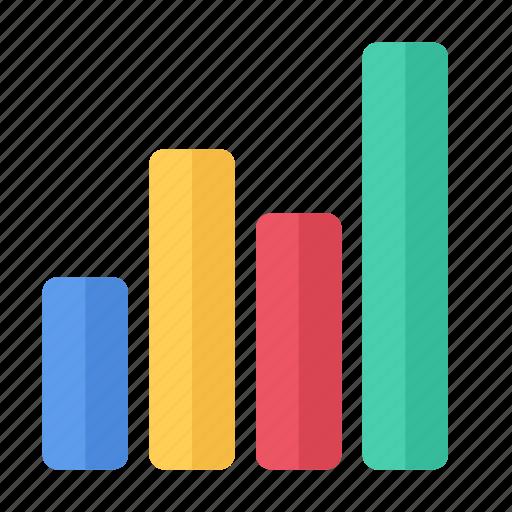 analysis, charts, columns, data, diagram, graphics, statistics icon