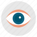 eye, eyeball, look, search, spy icon
