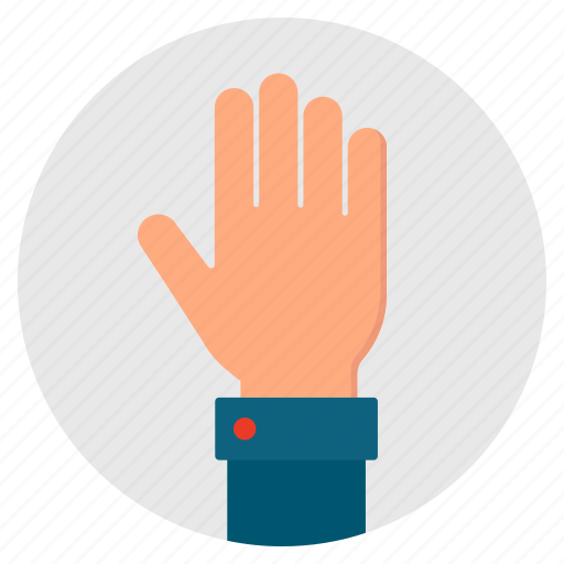 Give, hand, hello, hi, open, palm icon - Download on Iconfinder
