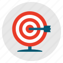 aim, archery, goal, success, target icon