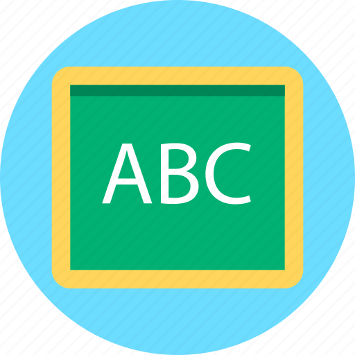 black board, board, learning, plank, school board icon