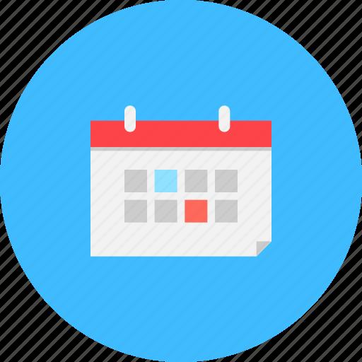 calendar, date, day, month, schedule, year icon