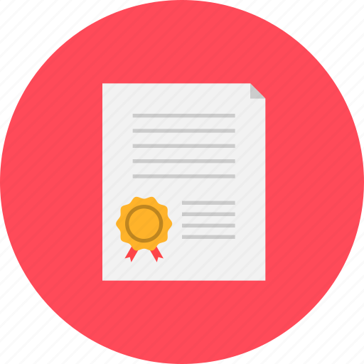 certificate, course, expert, learning, skill, training icon