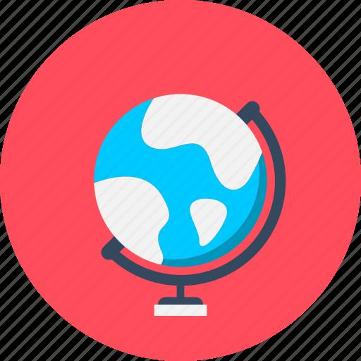 atlas, earth, education, geography, globe icon