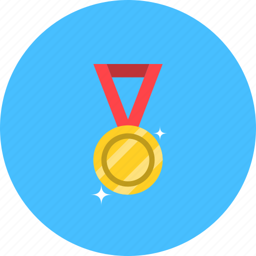award, champion, gold medal, medal, medallion, winner icon