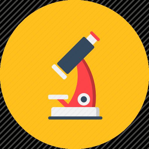 education, experiment, laboratory, microscope, research, science icon