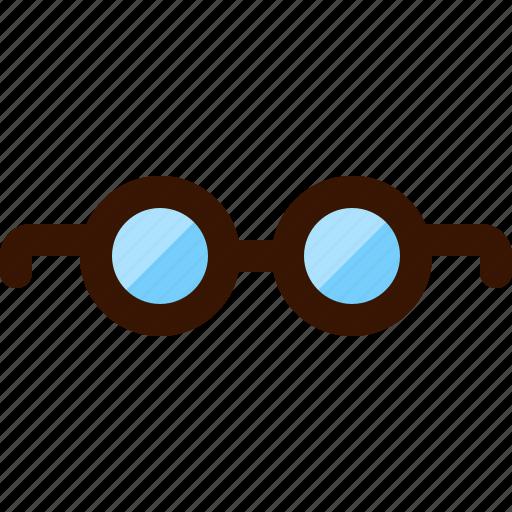 eye, eyeglasses, glass, glasses, look, vision, watch icon