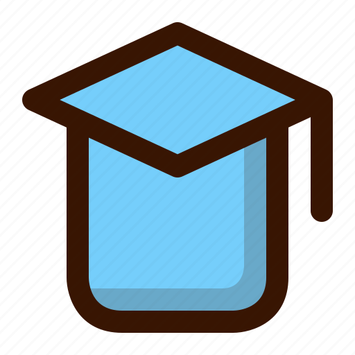 education, graduated, graduation, knowledge, learning, school, university icon