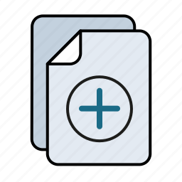 add, file, multiple icon