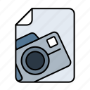 camera, canon, file, photo, picture, pictures icon