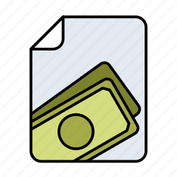 earnings, economy, expense, finance, money icon