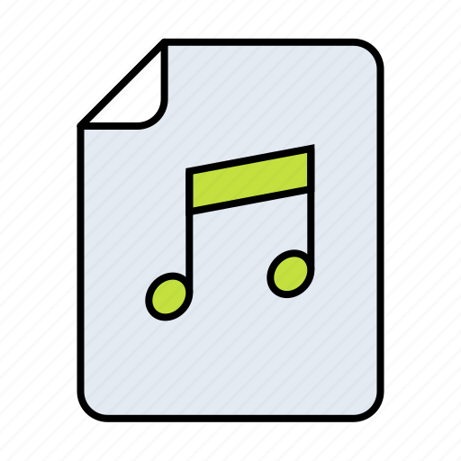 audio, file, music, music file, podcast, radio, song icon