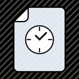 file, temp, temporary, temporary file icon