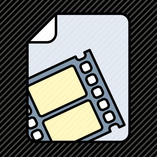 animation, film, movie, video icon