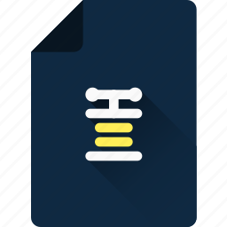 archive, compress, extension, file, format, type, zip icon