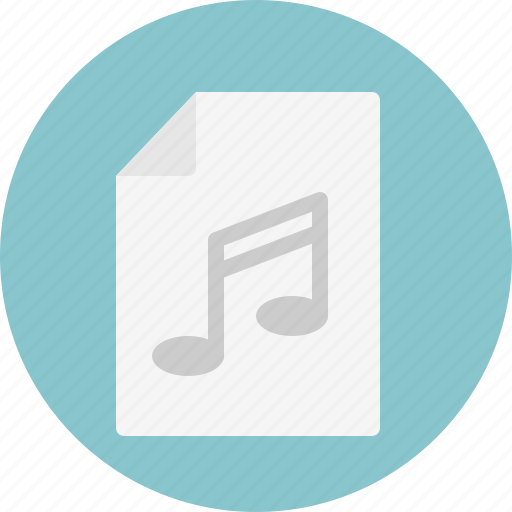 doc, music, note icon