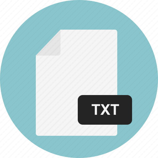 doc, document, file, format, txt icon
