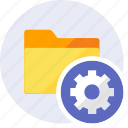 configuration, control, folder, gear, preferences, setting, tools icon