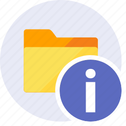 alarm, alert, danger, folder, info, information, warning icon