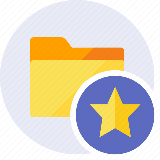 award, favorite, folder, heart, like, prize, star icon