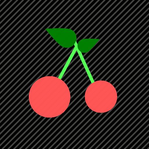 cherry, fruit, sweet icon