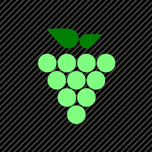 fruit, grapes icon